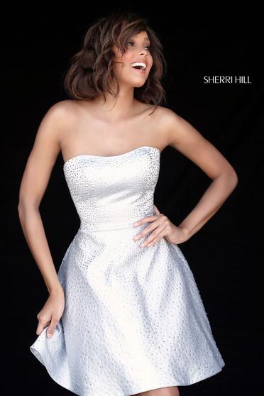 Rochie Sherri Hill 51365 ivory