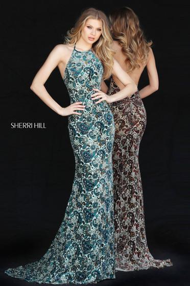 Rochie Sherri Hill 51410 Green