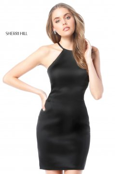 Rochie Sherri Hill 51421 black