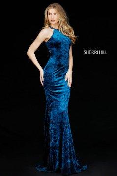 Rochie Sherri Hill 51424 teal