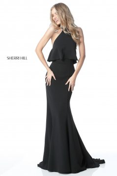 Rochie Sherri Hill 51488 black