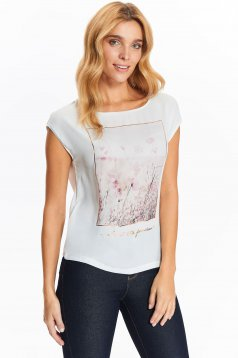 Top Top Secret S032462 White