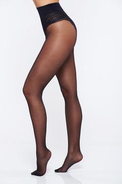 Dres dama negru modelator 20 den banda care nu permite alunecarea