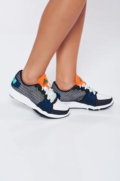 Pantofi sport Adidas negri casual stellasport cu talpa usoara