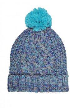 Caciula turcoaz Top Secret din material tricotat