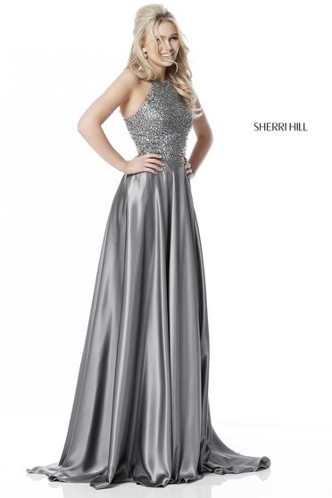 Rochie Sherri Hill 51799 Silver