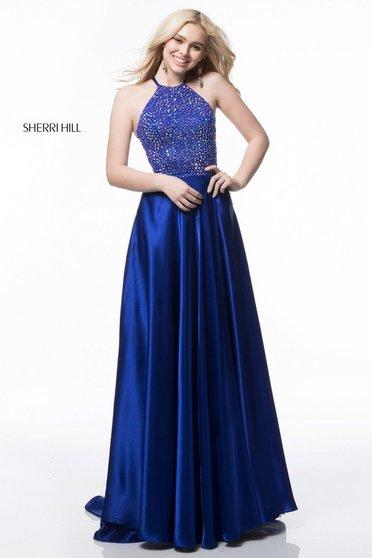 Rochie Sherri Hill 51799 royal