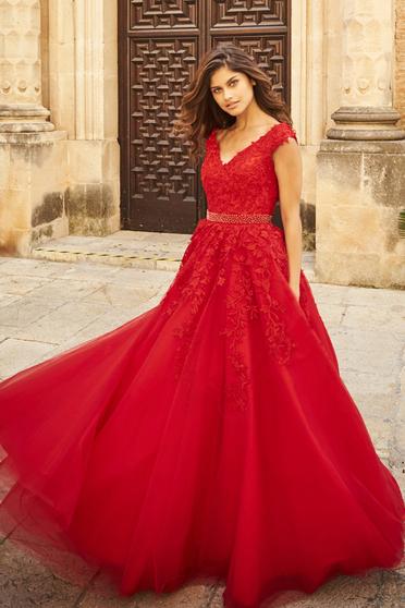 Rochie Sherri Hill 51905 Red