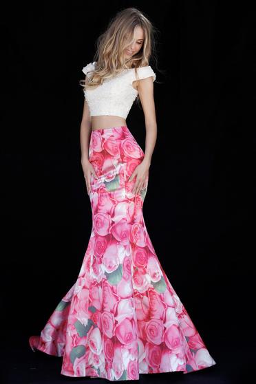 Rochie Sherri Hill 51927 Pink