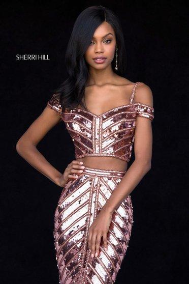 Rochie Sherri Hill 51934 copper