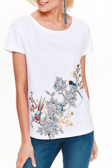 Tricou Top Secret S035133 White