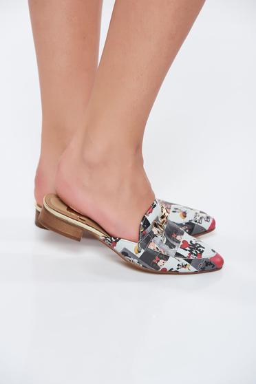 Papuci MissQ SS18-DSL034 Black
