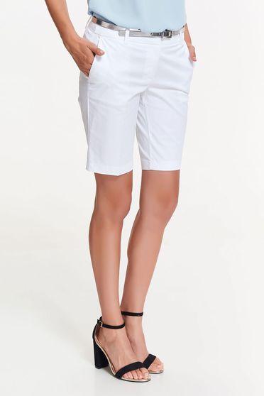 Pantalon Scurt Top Secret S036279 White