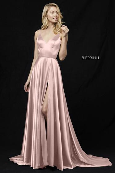 Rochie Sherri Hill 52119 rose