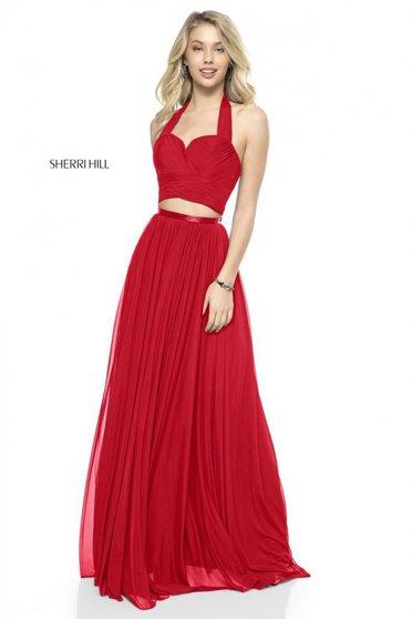 Rochie Sherri Hill 51900 red