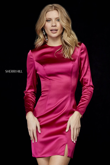 Rochie Sherri Hill 52168 berry