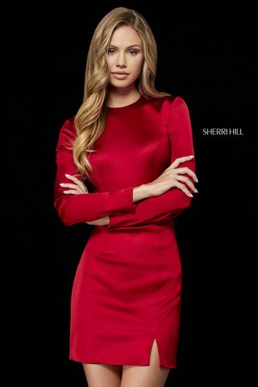 Rochie Sherri Hill 52176 red