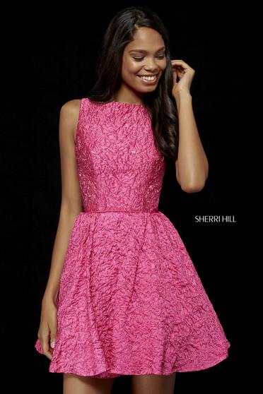 Rochie Sherri Hill 52303 pink