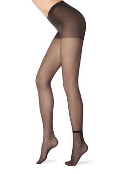 Dres dama negru cu banda elastica anti-alunecare cu aplicatii stralucitoare