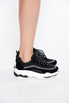 Pantofi Sport SS19-8439-1 Black