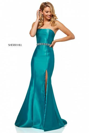 Rochie Sherri Hill 52541 Turquoise