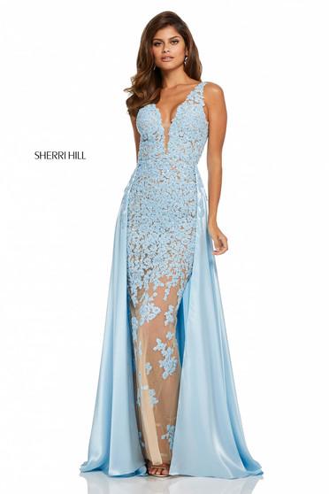 Rochie Sherri Hill 52599 Blue