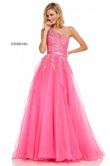 Rochie Sherri Hill 52736 Pink