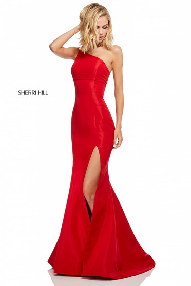 Rochie Sherri Hill 52752 Red