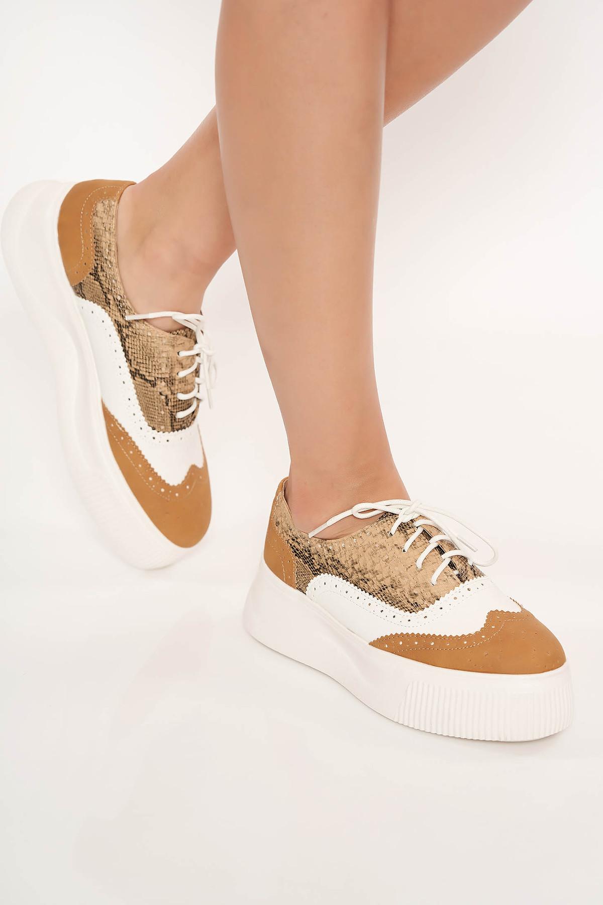 Pantofi cappuccino casual