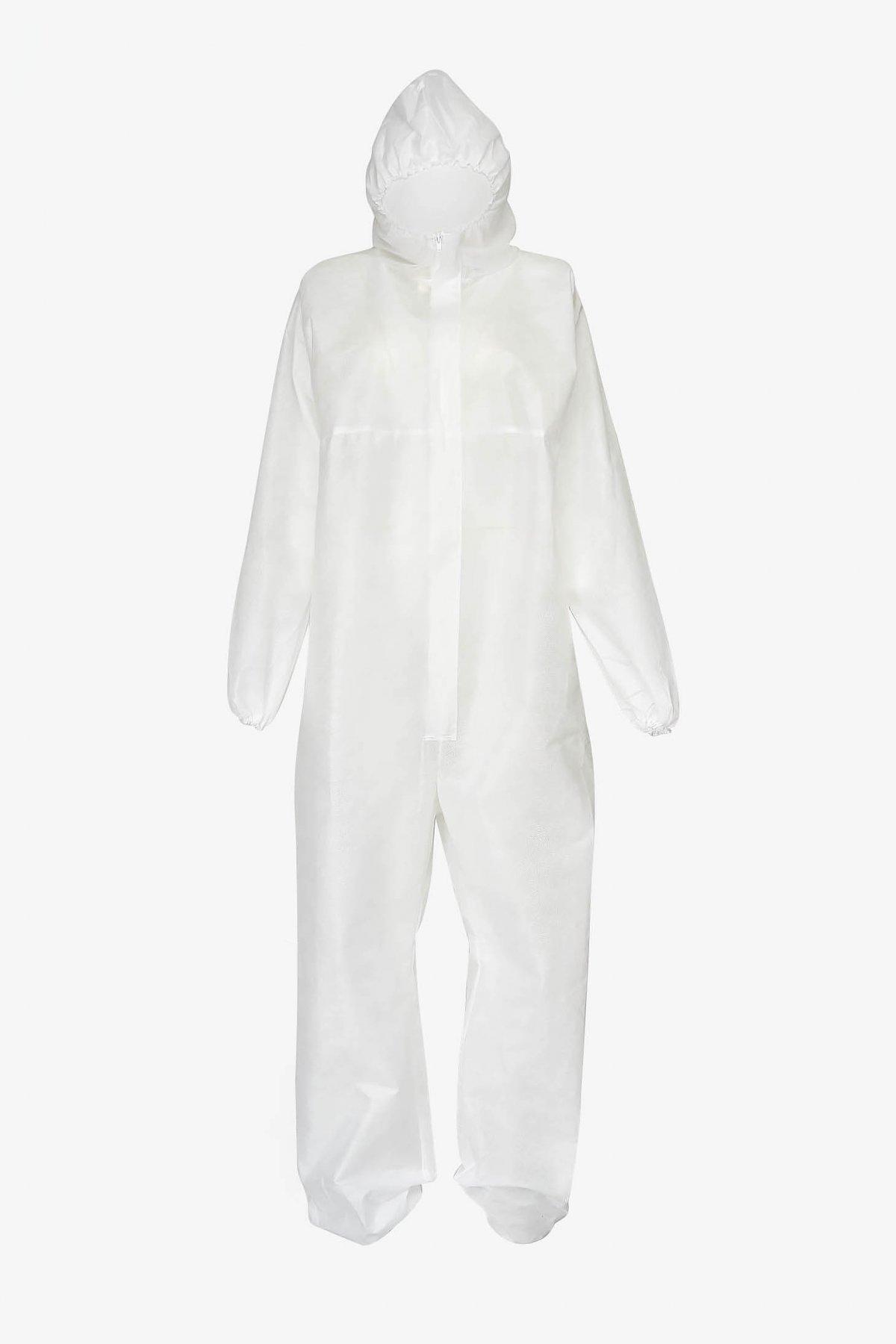 Combinezon alb engros la 26 lei + TVA COMANDA MINIMA 100 BUC din polipropilena imagine