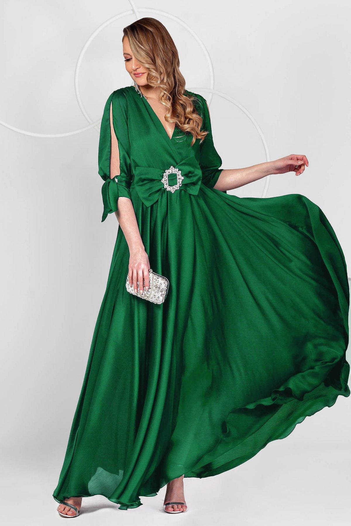 Rochie PrettyGirl SS20-R5301 Verde Petrol